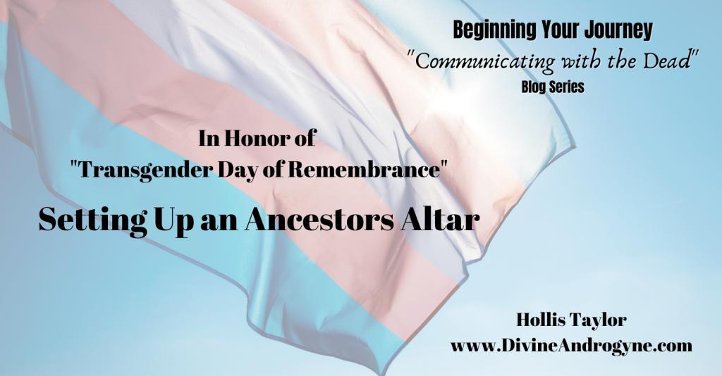 Setting Up An Ancestors Altar